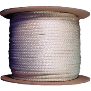1/8-inch Braided Nylon Rope, 600 foot Roll