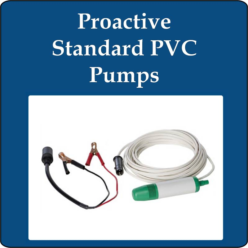 Proactive Standard PVC Pumps