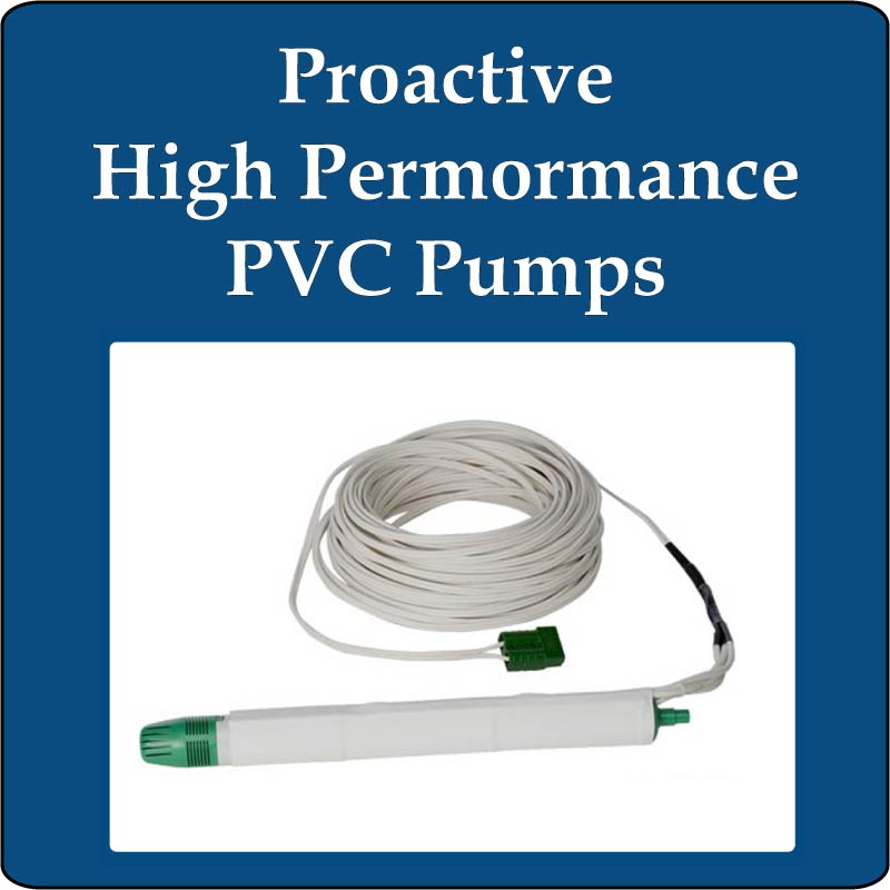 Proactive High Performance PVC Pumps