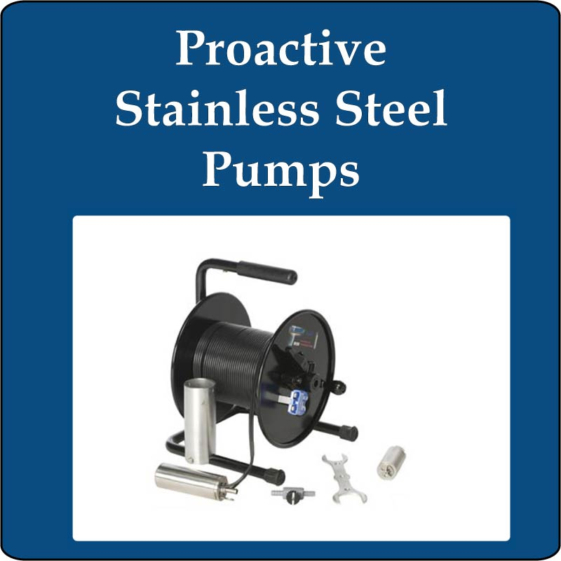 Proactive Stainless Steel Pumps