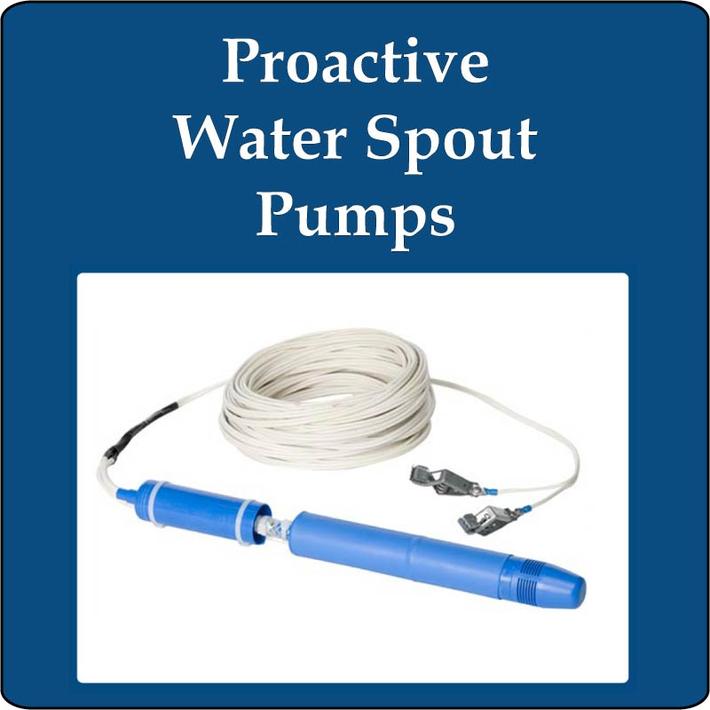 Proactive Water Spout PVC Pumps