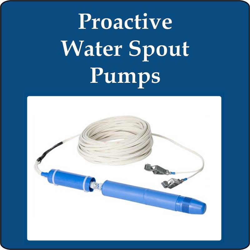 Proactive Water Spout PVC Pumps