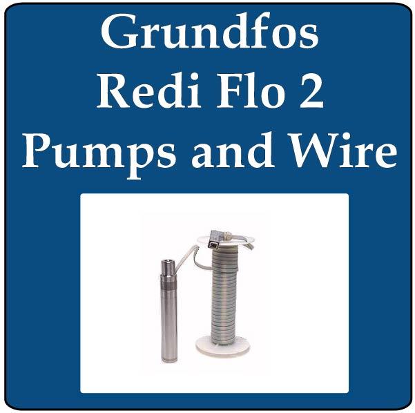 Grundfos Redi Flo 2 Pump and Wire