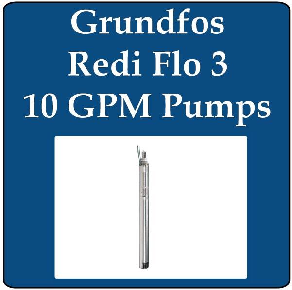 Redi Flo 3 10 GPM (10SQE) Pumps