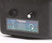 Pegasus Electra Peristaltic pump Control Panel