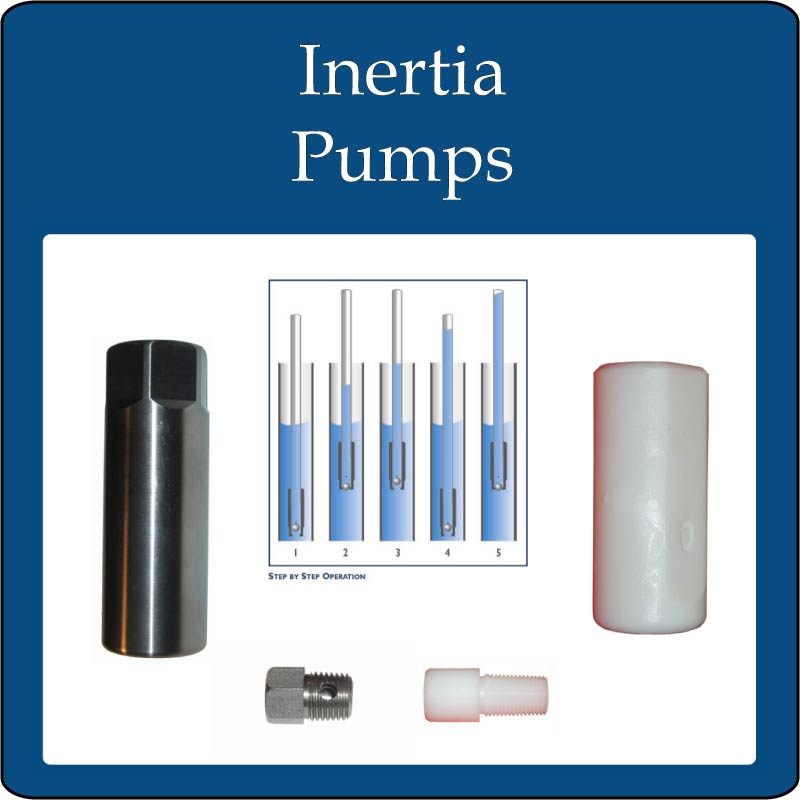 Inertia Pumps also called Check Valve Pumps