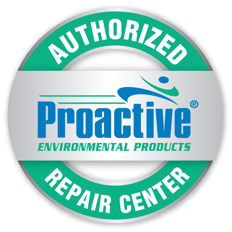 Official Proactive Repair Shop Button